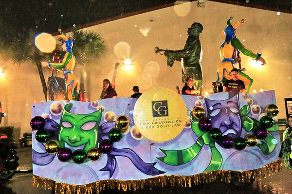Law Office of Craig Goldenfarb P.A. Mardi Gras Parade