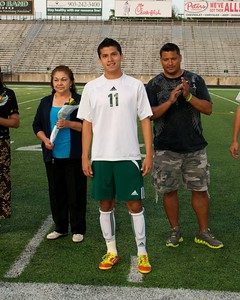 2012 Sr. Night LOBOS vs Tyler Lee