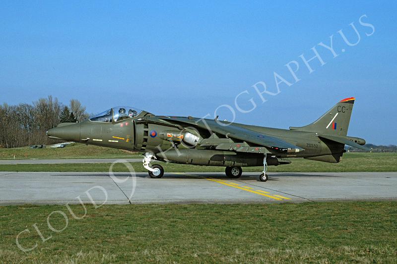 BAE Harrier 00015 BAE Harrier British RAF ZG532 April 1992 by Wilfried Zetsche .JPG