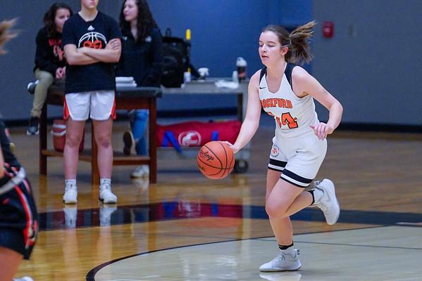Rockford Girls JV Basketball vs Byron Center 2.4.2020