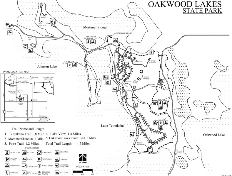 Oakwood Lakes State Park