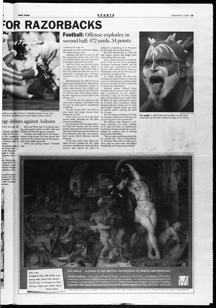 Daily Trojan, Vol. 159, No. 11, September 06, 2006