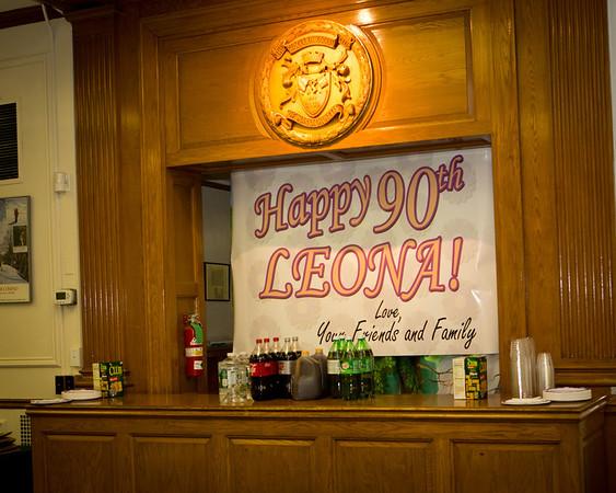 Leona's 90th Bday Party
