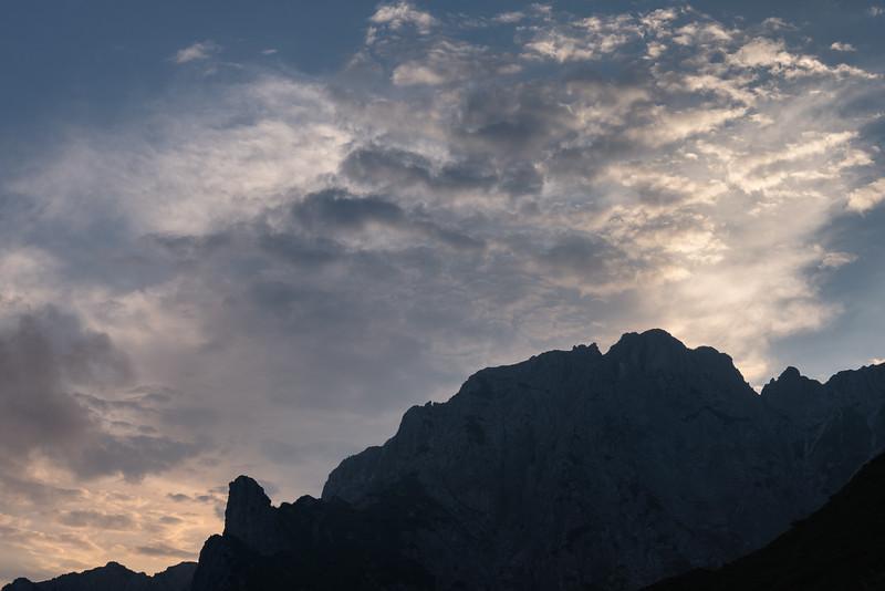 Grigne at sunrise - Mandello del Lario, Lecco, Italy - August 6, 2018