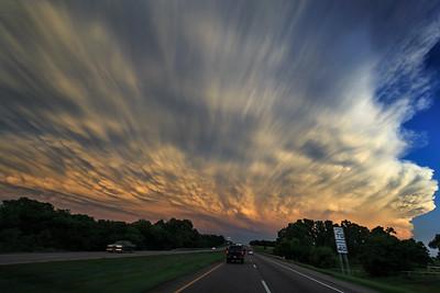 May 27th 2016 - Sunset Mammatus