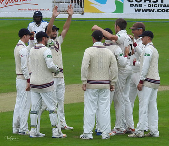 Yorkshire v Somerset, Scarborough, July 2017