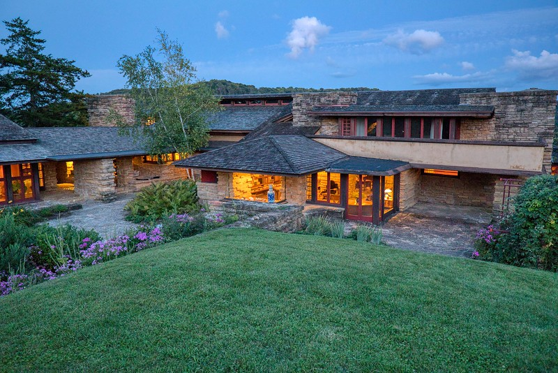 DA110,DT, Evening Time Taliesin Spring Green WI.jpg