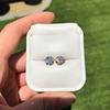 4.08ctw Old European Cut Diamond Pair, GIA I VS2, I SI1 34