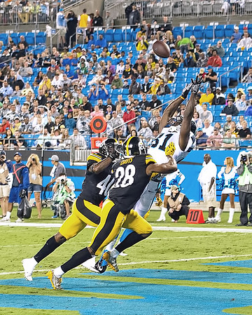 Carolina Panthers vs Pittsburgh Steelers - September 1, 2016