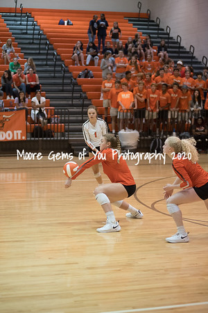 2019 Mauldin hosts Dorman volleyball