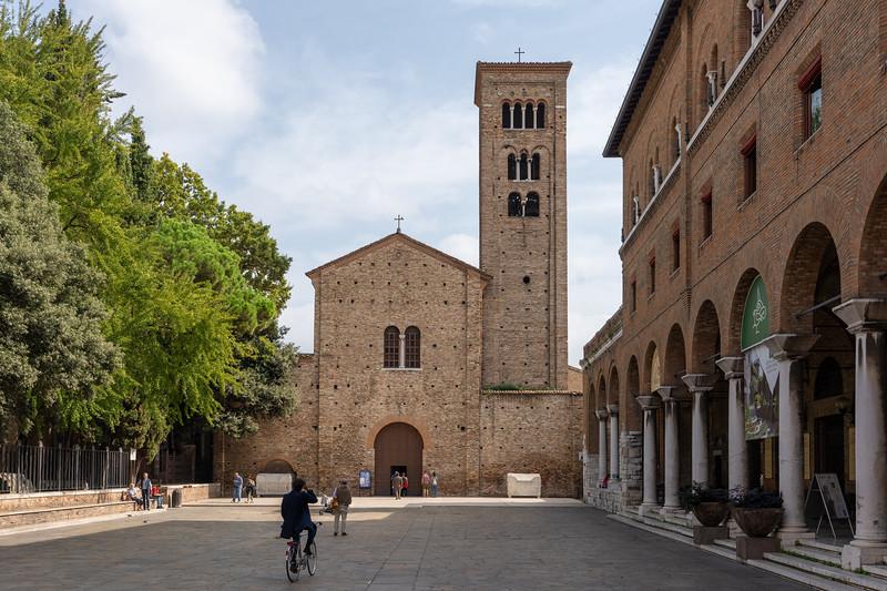 Square in Ravenna, Italy