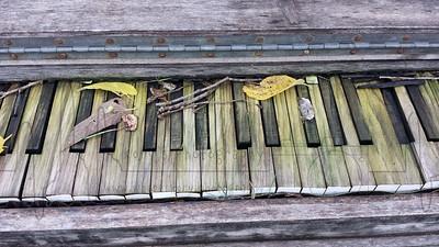 Weathered Piano
