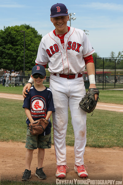 Brantford Red Sox vs. London Majors June 10, 2018