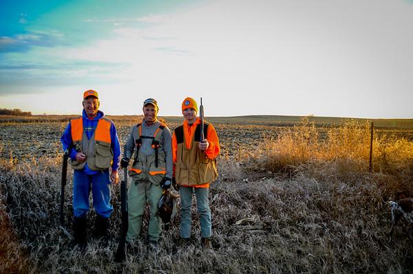 2016-11-27 Hunt with McEwen and Hasslen