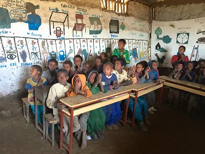 2015 - Adisge Primary School Simien Mountains - African Wildlife Foundation
