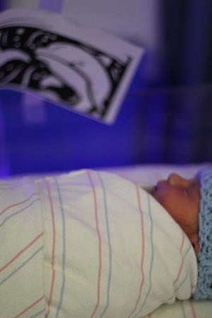 Twins in the nursery-Sept 12,2012