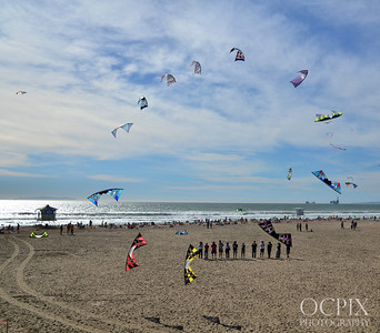 Kite Party 2014 - Huntington Beach