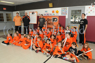 Philadelphia Flyers received award from Pa. Department of Health