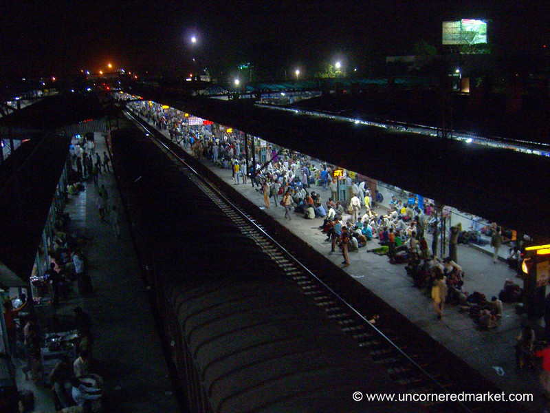 Train Station in Ambala, India