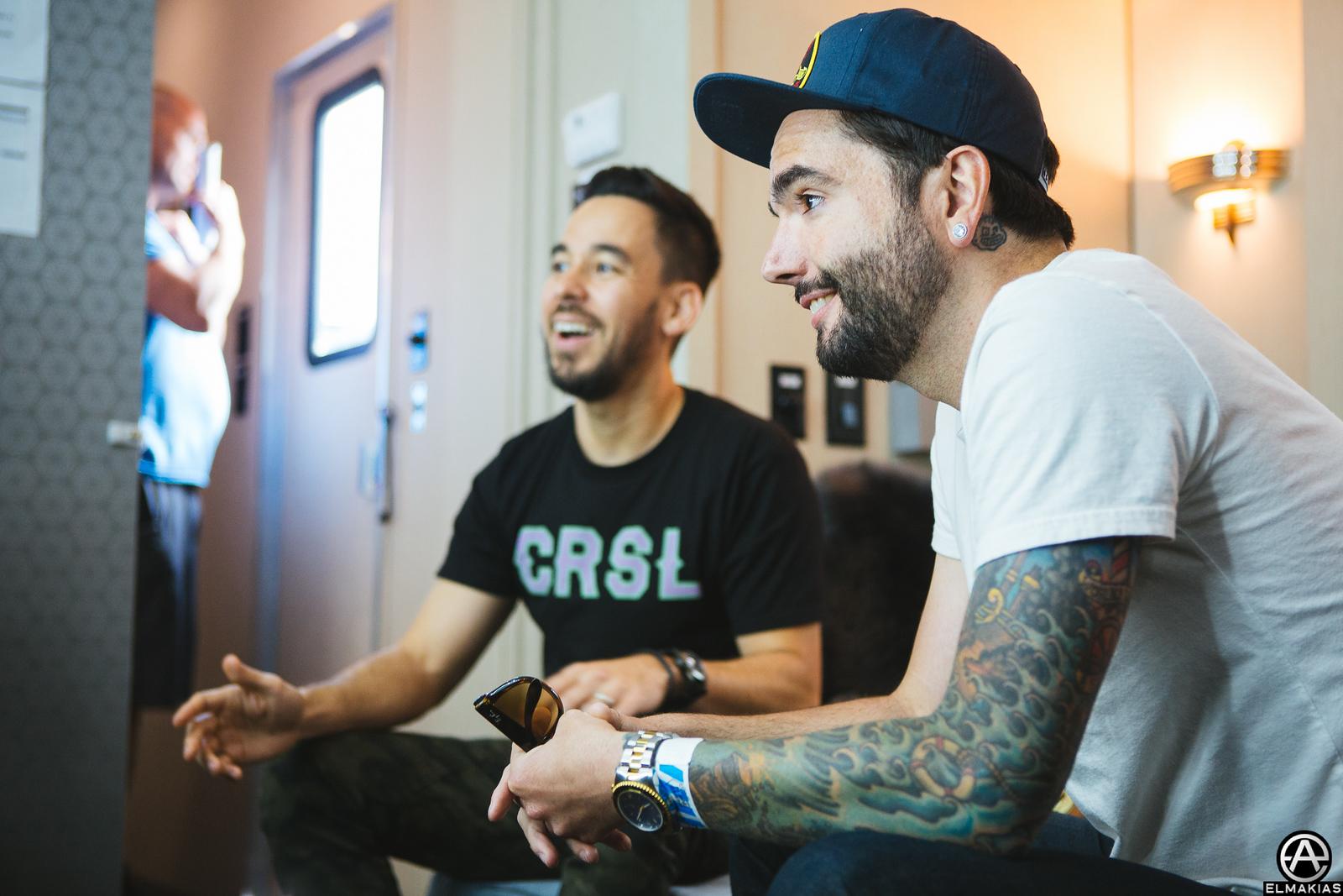 Jeremy and Mike Shinoda