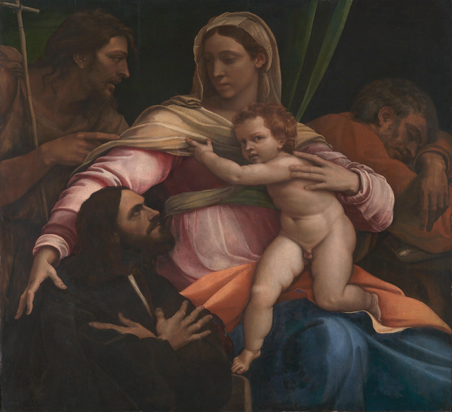 The Madonna and Child with Saints and a Donor