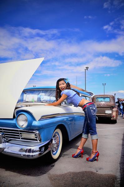 Model: Miki Nagano - San Diego, California