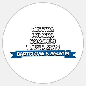 Comunión Bartolomé & Agustín