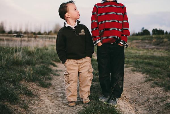Photoshoot 2013 // Caden & Easton
