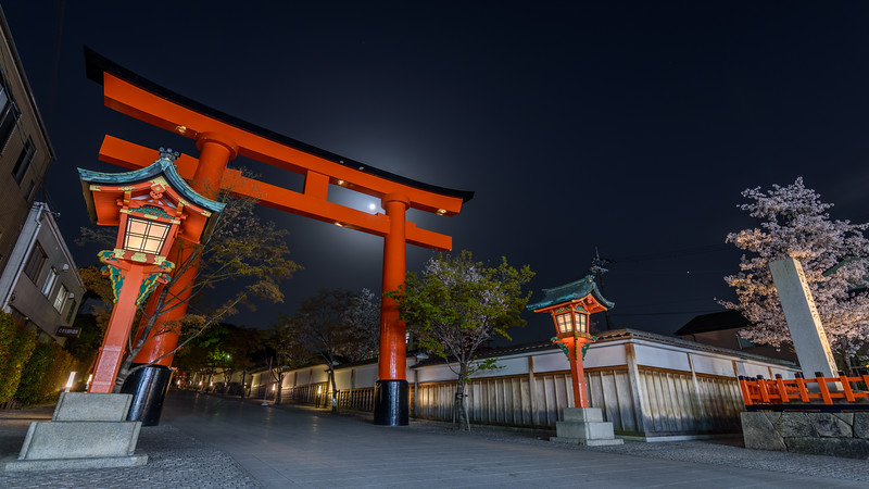Entrance to Fushimi Inari Taisha