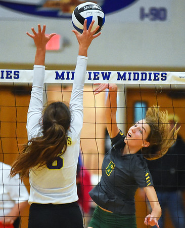 Avon sweeps Amherst in sectional final