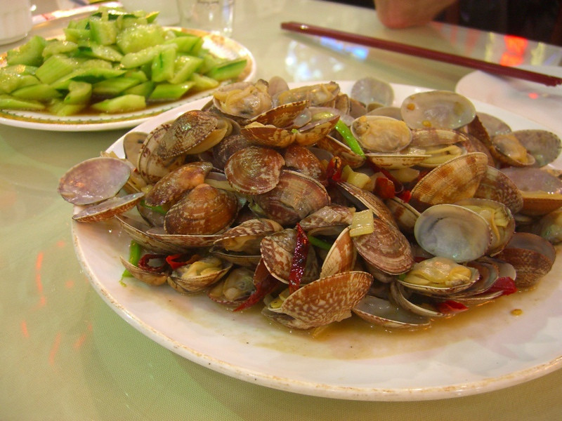 Spicy Qingdao Clams - Qingdao, China