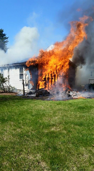 May 7th - Lee St. House Fire