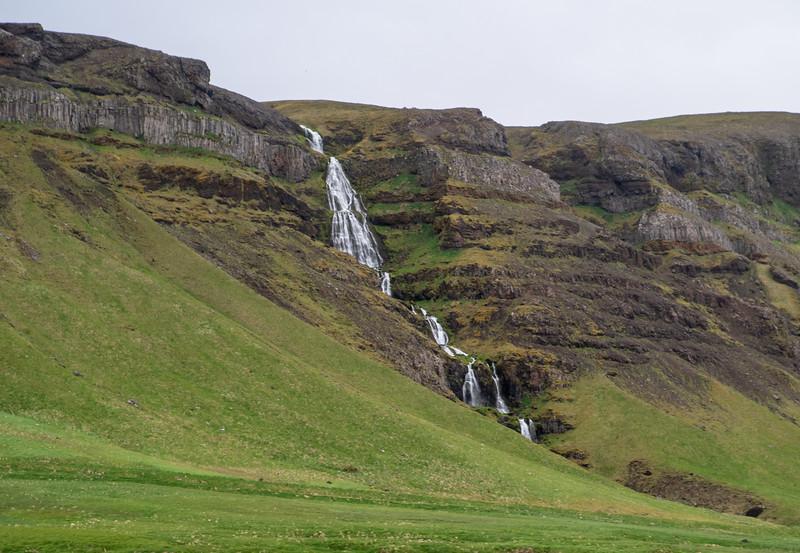 Iceland Gentle Waterfall  Photography by Wayne Heim