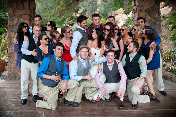 Pala Mesa Golf Resort Wedding Reception
