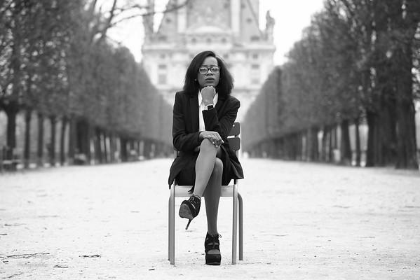 Joelle M, En Passant Par Les Tuileries