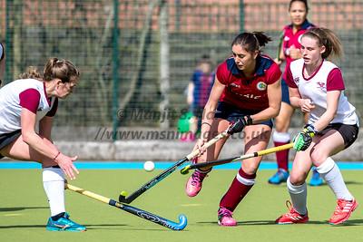 Olton Ladies vs Oxford Hawks 25-03-2018