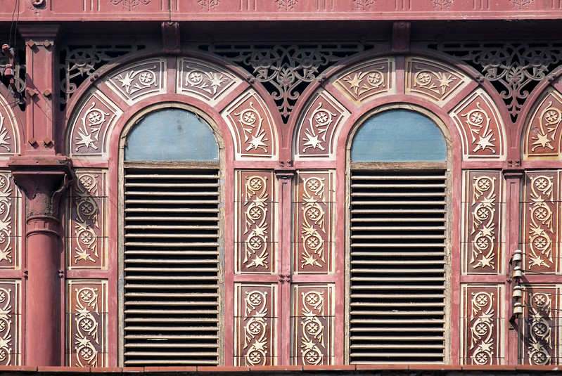 Architectural detail, Sant Antoni market, town of Barcelona, autonomous commnunity of Catalonia, northeastern Spain
