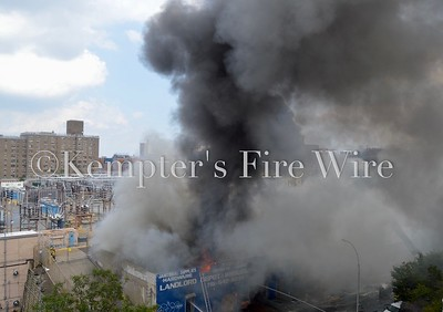 3rd Alarm Commercial Fire - 551 East 179th St, Bronx NY - 8/12/2020