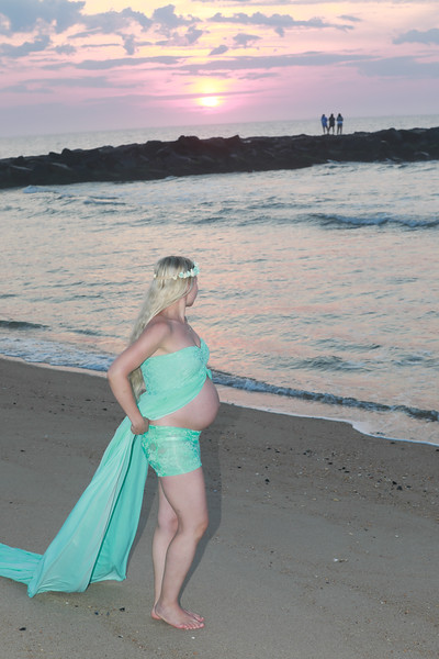 Vera Maternity Shoot Belmar Beach NJ by Bill McKim