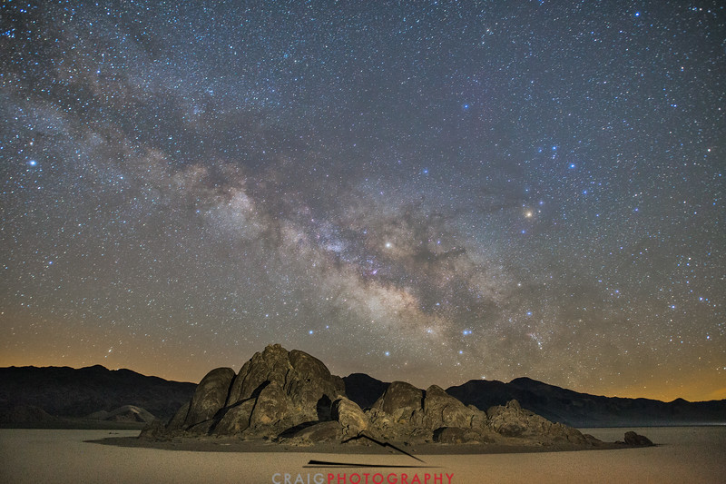 Milky Way over Death Valley 1