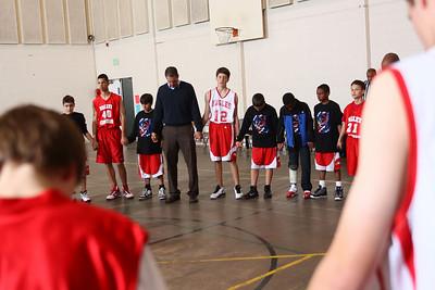 RCS MS Boys' Basketball vs Valley Christian - Jan. 18, 2011