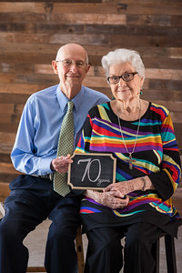 Billy & Francis - 70th Anniversary