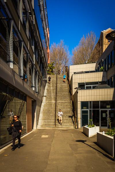 Millers Point : Windmill Street Steps