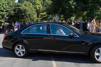 Farewell at Hadee Mosque, Harrisburg