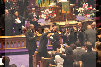 Metropolitan African Methodist Episcopal Church - President Obama & First family