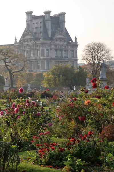 Tuileries Autumn Color