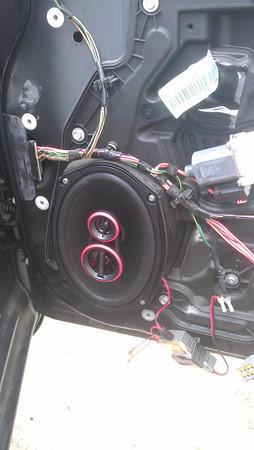 2008 Dodge Avenger SXT Flex Fuel Front Door Speaker Installation - USA