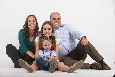 David Luis e família