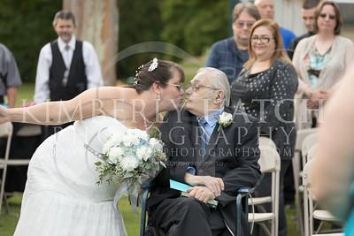 Ceremony- Lynn Segarra & Todd Roselli Wedding Photography- Shaker Farms Country Club- Westfield, MA New England