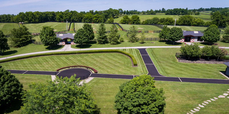 Taylor Made Farm aerial shots from 6.14.18.